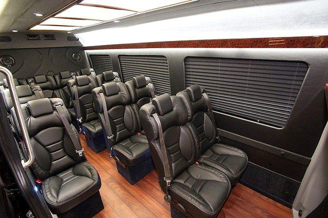 Sprinter executive limousine laac car service for Mercedes benz sprinter rental miami