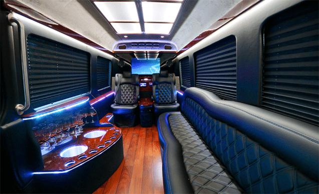 Sprinter Limousine Limo Service Limo Rental Party Bus