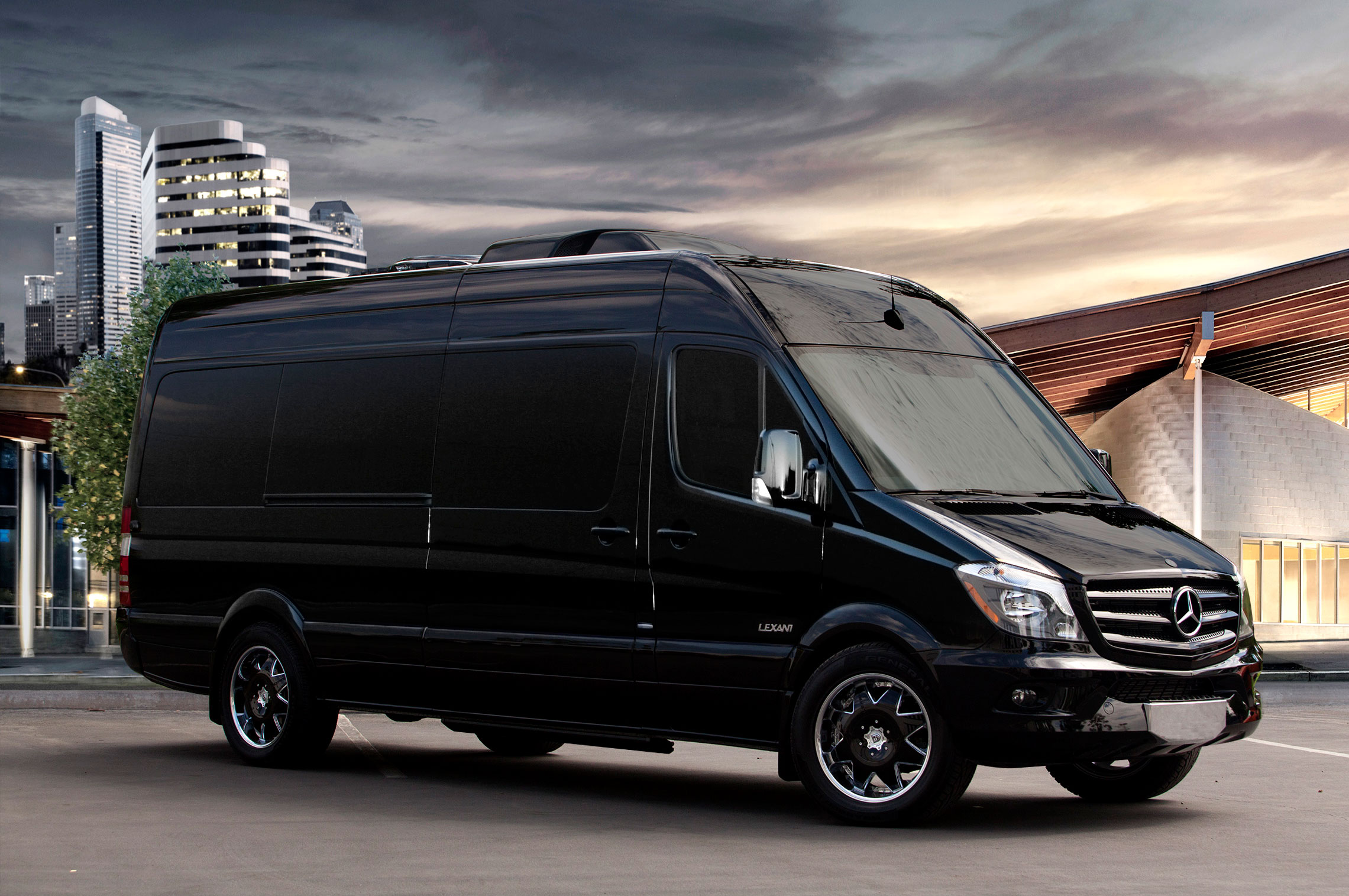 What a 166 000 mercedes benz sprinter limousine looks for Mercedes benz service miami